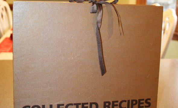 How I Organize my Found Recipes