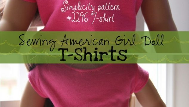 Sewing American Girl Doll T-Shirts