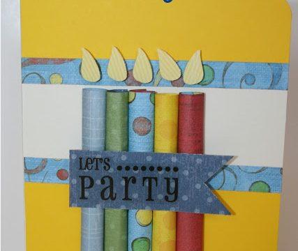 Candles Birthday Card (Tutorial)