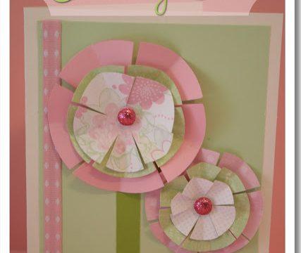 Paper Flower Birthday Card {Tutorial}