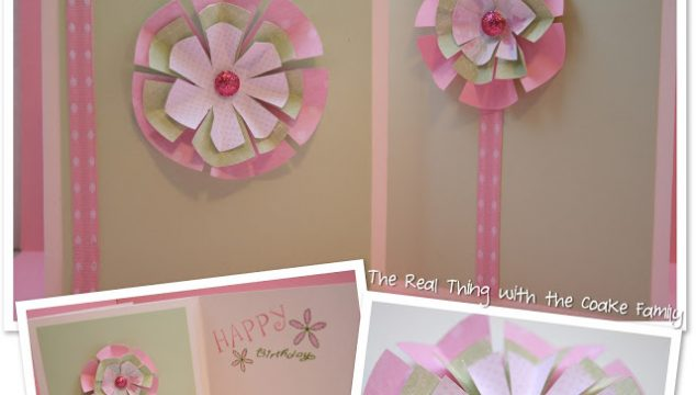 How to Mail Homemade Cards and More Paper Flower Cards