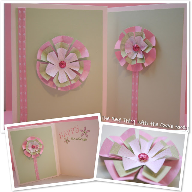 How to mail homemade cards and more paper flower cards the real how to mail homemade cards and more paper flower cards the real thing with the coake family mightylinksfo