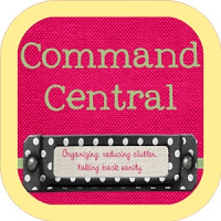 Command Central: Fabric Covered Artist Canvas