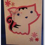 Meow…Cute Happy Birthday Card