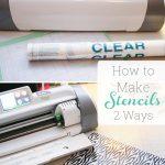 Make Your Own Stencils