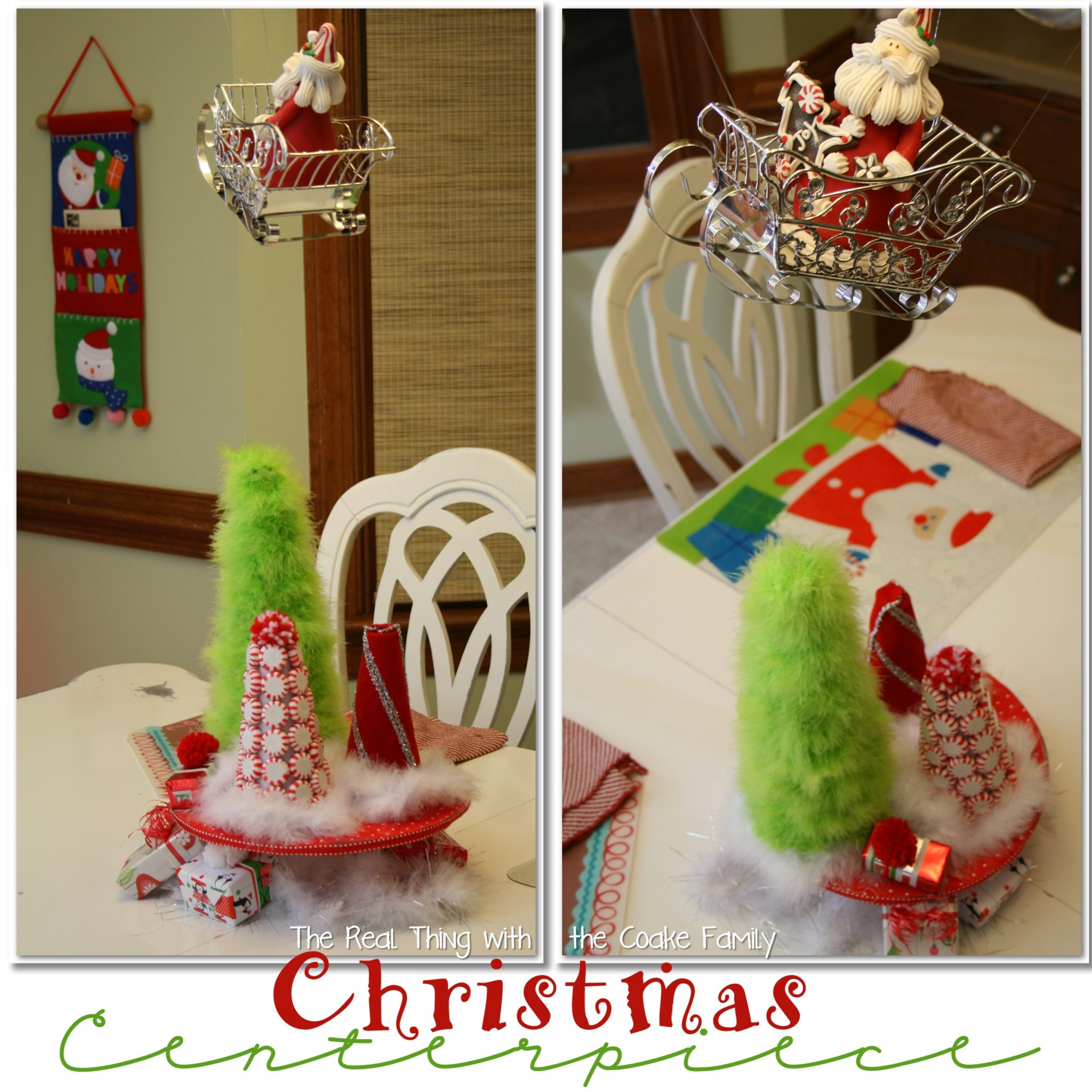 Table decorating ideas christmas centerpiece the real