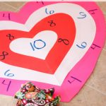 Activities for the Family ~ Valentine's Bean Bag Toss