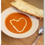 Valentine Dinner {Tomato Soup Recipe}