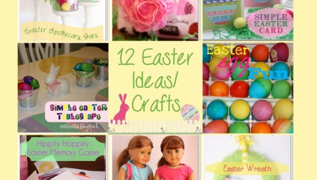12 Fun Easter Ideas/Crafts