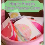 Activities for the Family ~ Hippity Hoppity Easter Memory Game