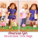 Free Doll Patterns ~ Reversible Tote Bag