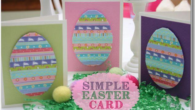 Handmade Cards ~ Simple Easter Card