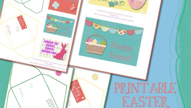 Printable Easter Cards!