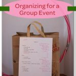 Event Organization ~ Girl Scout Activities