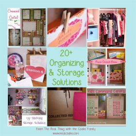 20+ Organizing Ideas and Storage Solutions