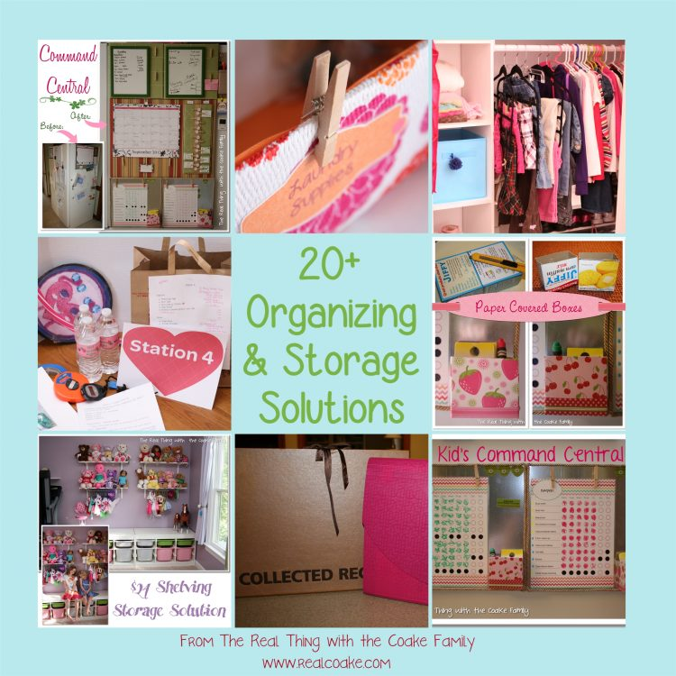 Idees And Solutions: 20+ Organizing Ideas And Storage Solutions