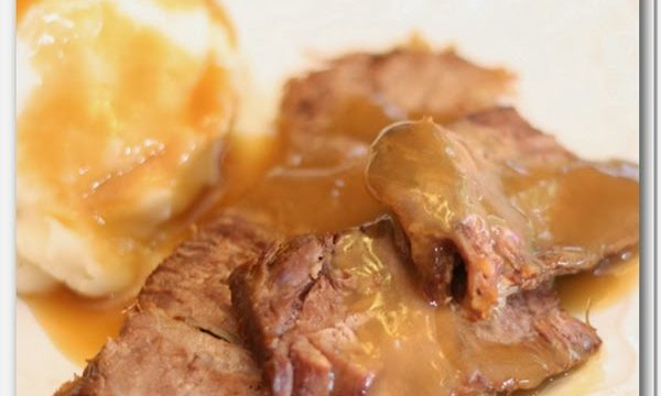 Father's Day Dinner ~ Grandma's Pot Roast Recipe