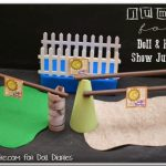 Horse Jumping Craft {American Girl Crafts}