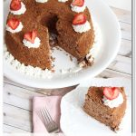 Chocolate Angel Cake {Angel Food Cake Recipe}