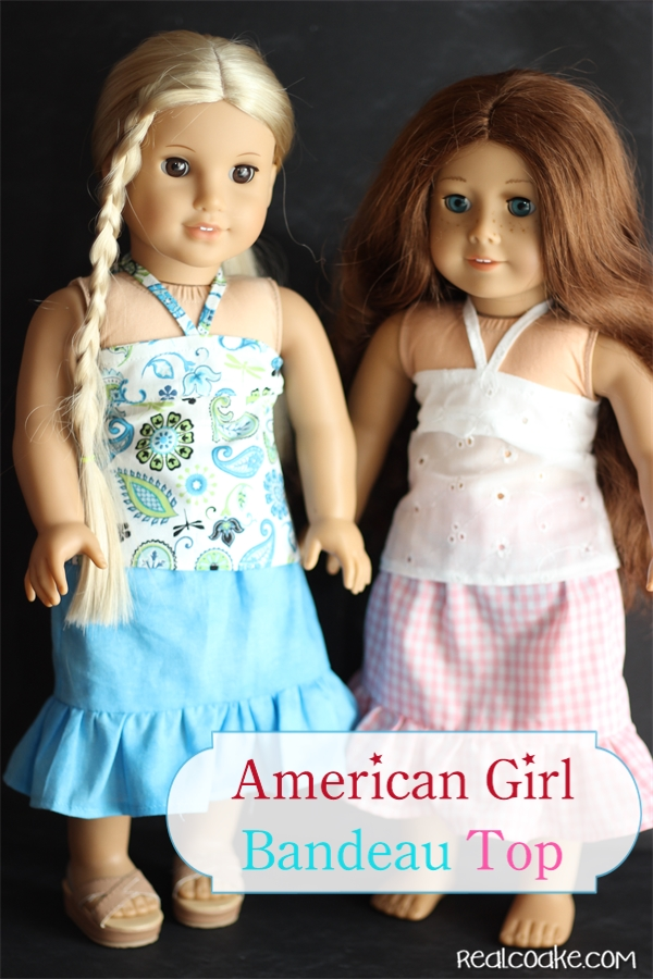 American Girl Bandeau Top An American Girl Doll Clothes Pattern