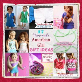 17 #AmericanGirlDoll #HomemadeGift Ideas. #AGDoll #Gift #Gifts