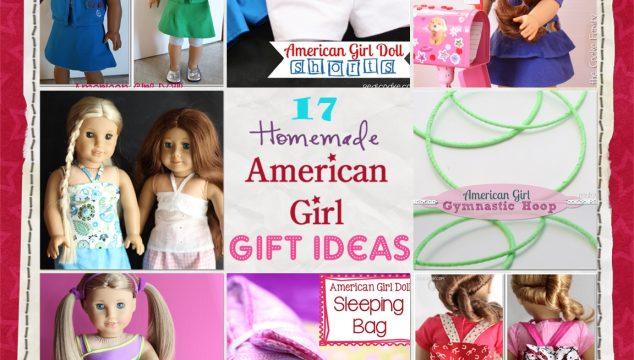17 American Girl Doll Homemade Gift Ideas