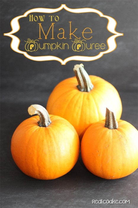 How to cook pumpkin to make your own pumpkin puree for recipes. It will make you feel like a kitchen rockstar and it is easy too!