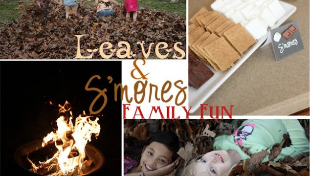 Fall Family Fun – Leaves & S'mores Party