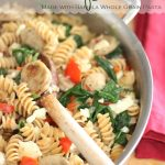 Sausage and Peppers Pasta {Pasta Recipes}