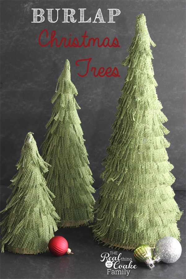 darling christmas crafts to make burlap christmas trees perfect christmas decorations burlap