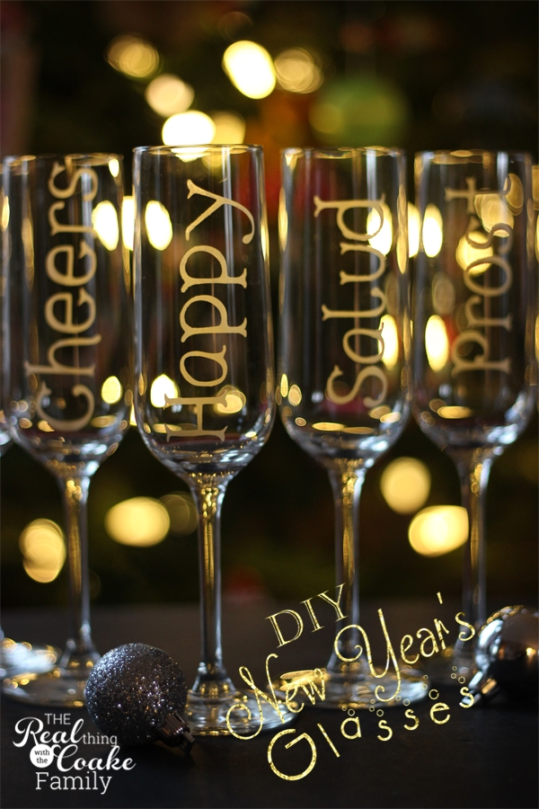 personalized champagne glasses using glass etching. Black Bedroom Furniture Sets. Home Design Ideas