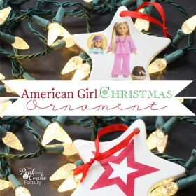 Homemade Christmas Ornaments ~ American Girl Crafts