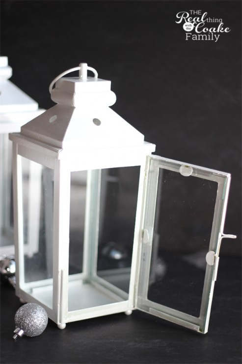 DIY makeover of hurricane lamps with tips and tricks for your own makeover from #RealCoake #HurricaneLamps #DIY