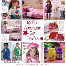 19 Fun American Girl Crafts