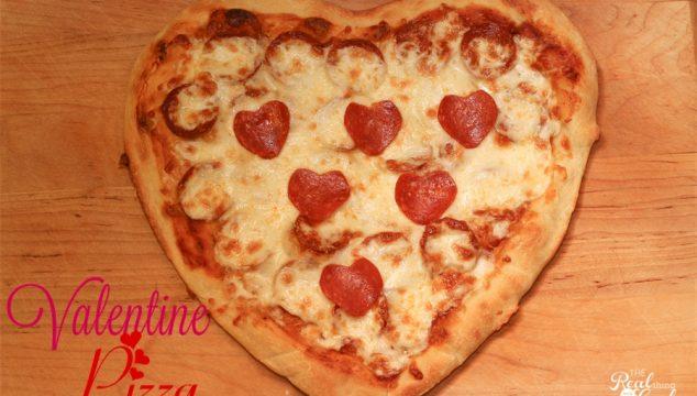 Family Dinner Ideas ~ Valentine Pizza