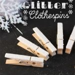 10 Minute Craft Ideas ~ Glitter Clothespins