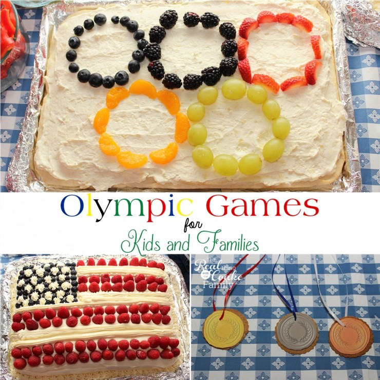 Fun Winter Olympic games for kids and families. #WinterOlympics #Olympics #Games #FamilyFun