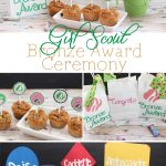 Girl Scouts Bronze Award Ceremony Ideas
