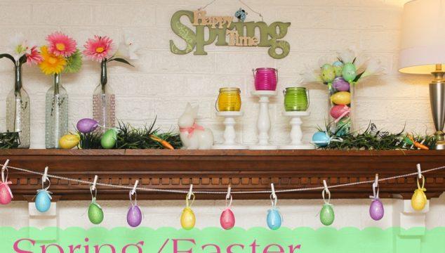 Easter / Spring Mantel