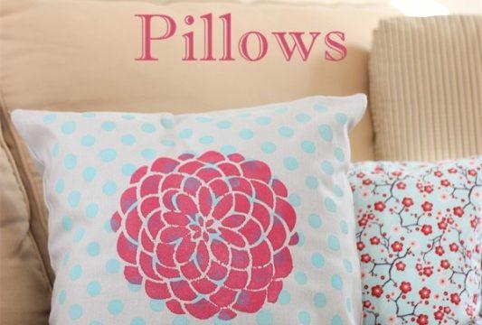 More Fun with Decorative Pillows