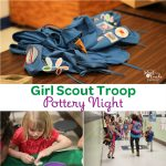 Girl Scouts Troop Event ~ Host a Pottery Night