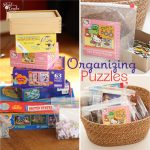 Organizing Tips ~ How to Organize Puzzles