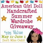 American Girl Doll Giveaway of a Summer Wardrobe!!