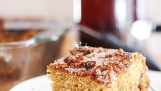 The Most Delicious Sour Cream Coffee Cake Recipe