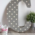 DIY Wall Art ~ Make Pretty Monogram Letters