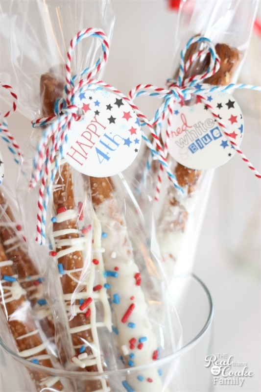 Fourth of July Recipes and Festive Decor...Over 25 yummy ideas at the36thavenue.com