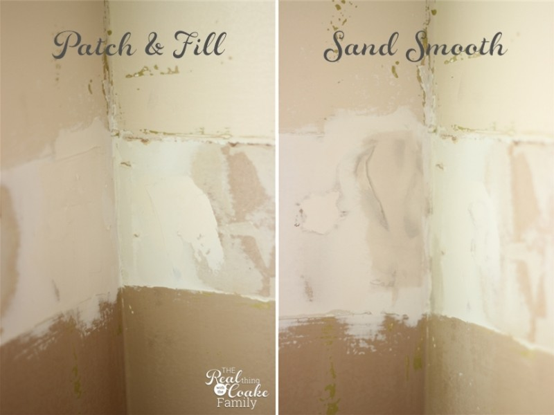 How to remove chair rail (part 2) with an update on a living room makeover. #DIY #HomeImprovement #RealCoake