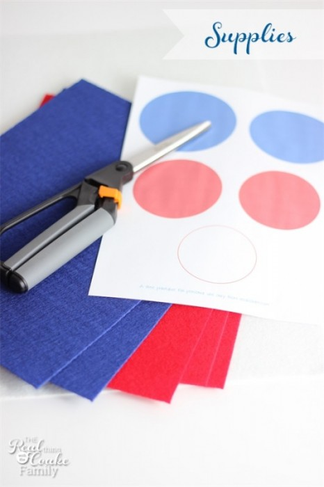 4th of july crafts easy to make felt napkin rings