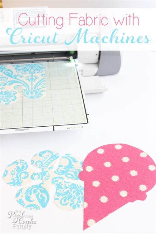 Cutting Fabric With Cricut Machines Simple Cricut Patterns