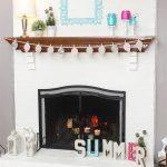 Summer Mantel Decorating Ideas
